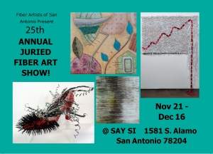 Fiber Artists of San Antonio 25th Annual Juried Fiber Arts Show