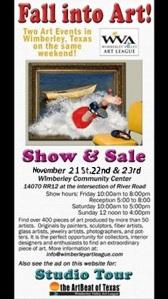 Wimberly Valley Art League Fall Show